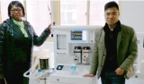 Client Visit Anjue for Anethesia Machine