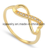 Gold Plated Jewelry Real 925 Silver Rings