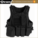 Military Gear Molle Combat Soft Safety Protective Army Tactical Vest