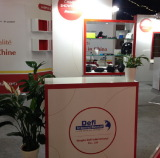 Our Booth in Show, Paris, France, 2014