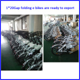 1*20gap folding e bike is ready to ship