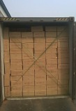 steel wheel carton package bulk loading in the container