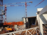 Minglong′s QTZ50(TC4810) tower crane exporting to Vietnam