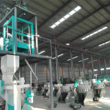 Corn processing machine