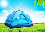 Standard Double Layer Camping Tent for 3 Persons