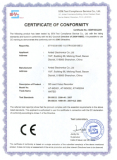 CE certificate of SD card Mobile DVR