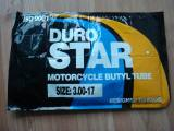 MOTORCYCLE TUBE DURO STAR BRAND