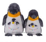 "9"" Stuffed Animal Toy Mother Penguin with Baby"