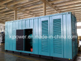 1000kva Soundproof Cummins Gensets For China Embassy in Paskistan