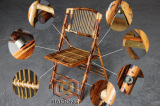 Solid Bamboo Folding Chair