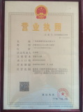 Signstech business registration Certificate in China