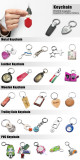 Professional Custom Promitional Gift All Kinds of Keychain
