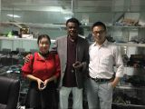 Client visited our factory