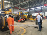 Foreign Customers Inspected Their Full Hydraulic Core Drilling Rig HFDX-4
