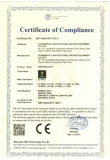 CE ROHS Certificate moving head light
