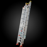 Hot sale movable flexible Multifuctional extension aluminum step ladder