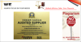 SGS Audited MIC Gold Supplier