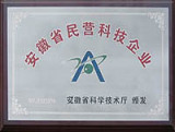 Anhui Private Technological Enterprise