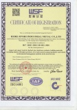 ISO 14001 Certificate for Production