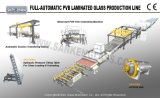 PVB Laminated Glass Production Line