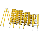 A shape insulated folding 2*8 step fiberglass ladder prices