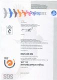SGS ISO9001 Certificated