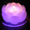 Water Lyli LED Candle