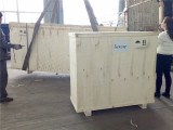Shipment of plastic profile production line