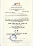 EC declaration of conformity of weather station