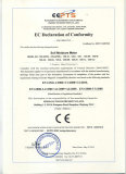 EC declaration of conformity of soil moistrue meter