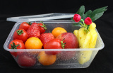 Disposable Microwavable Containers with cover for fruits/salad