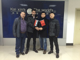 Welcome Syria customer visit our company