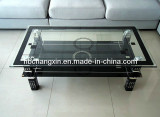 Simple Tempered Glass Coffee Table