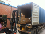 Factory show---LOADING CONTAINER