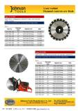 Laser welded concrete saw blade-2