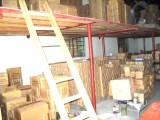 a corner of the warehouse for the finished products in our lighting factory