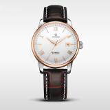 Fashion Custom Mechanical Wrist Stainless Steel Automatic Watch for Man and Woman 72051