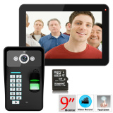 9 Inch Video Door Phone