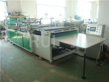 Dry cleaing garment bag making machine