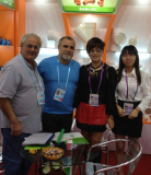 Customers in the Canton Fair