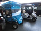 Suzhou Eagle′s Golf Cart in a Railway Station of India