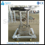 Global truss lifting system truss base truss sleeve block truss top section