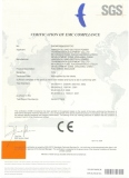 CE certificate for FCN series