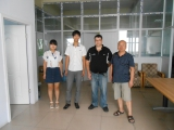 Customer′s visiting from New Zealand