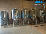 2000L Glycol Jacket Conical Beer Fermenter