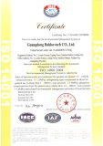 Environmental Management System ISO14001:2004