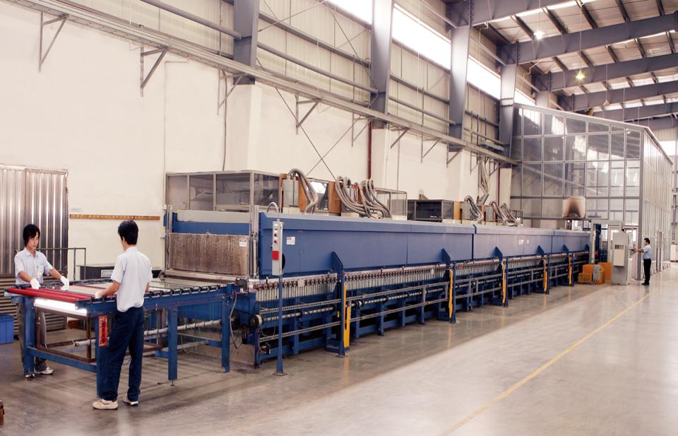 Tempering production line