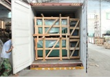 Loading container for auto glass(2)