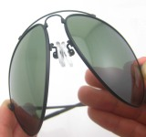 New Fashion Elastic Memory Design Polarized Sunglasses for Man