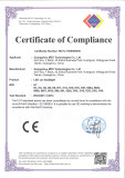 RoHS Certificate of Compliance